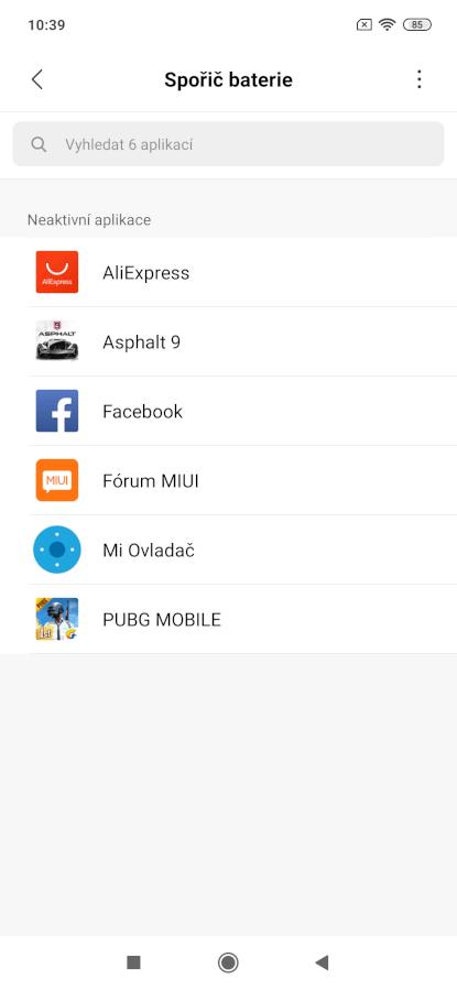 Obchod Play, Store – výběr a instalace aplikace.