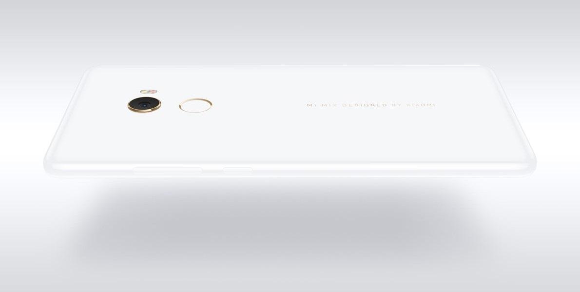 Xiaomi Mi Mix 2 SE, design