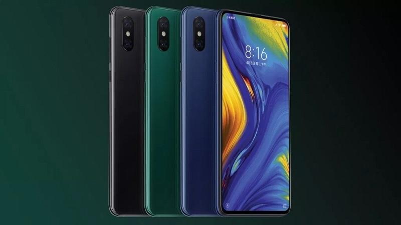 Xiaomi Mi Mix 3 5G a barevné varianty