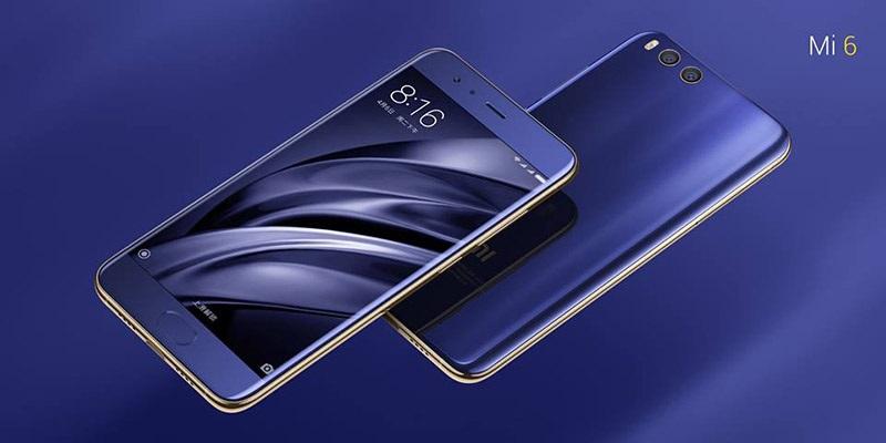 Xiaomi Mi 6, modrá varianta