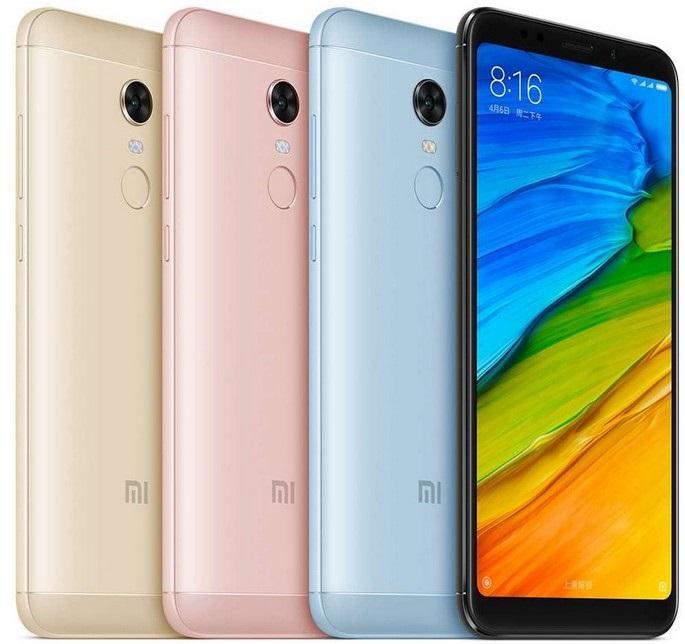Xiaomi Redmi 5 Plus, barvy