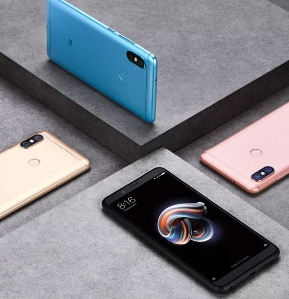 Xiaomi Redmi Note 5 LTE, barvy