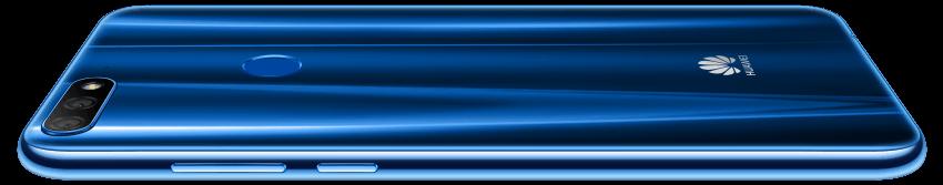 Huawei Y7 Prime v modré
