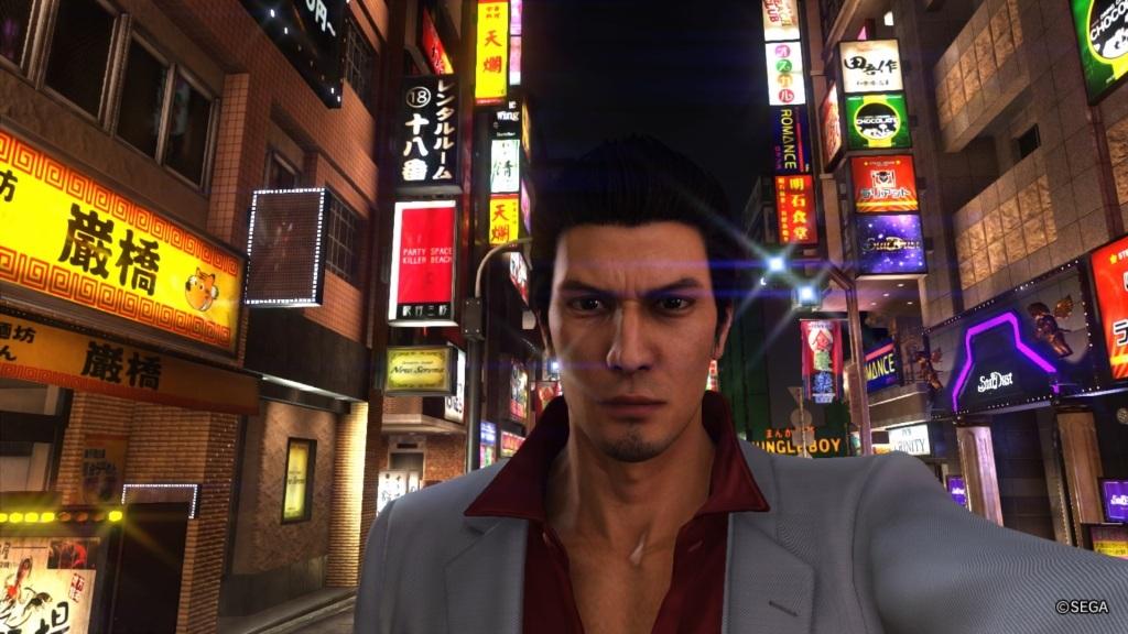 Yakuza 6: The Song of Life; Gameplay: foto mód