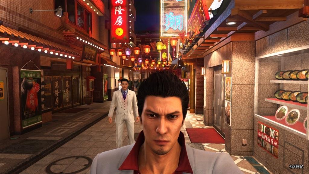 Nejlepší hry; Yakuza 6: The Song of Life; screenshot: Kazuma
