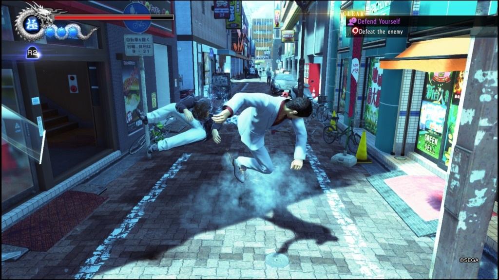 Yakuza 6: The Song of Life; Gameplay: kop