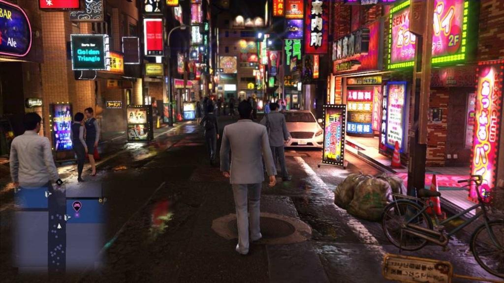 Yakuza 6; Gameplay: město