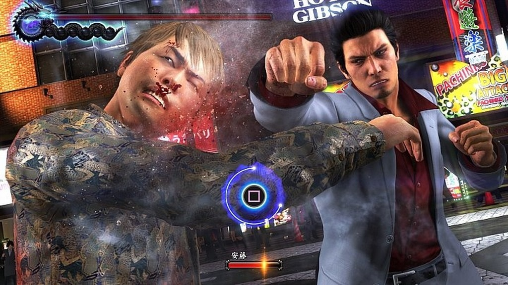 Yakuza 6; Gameplay: souboj