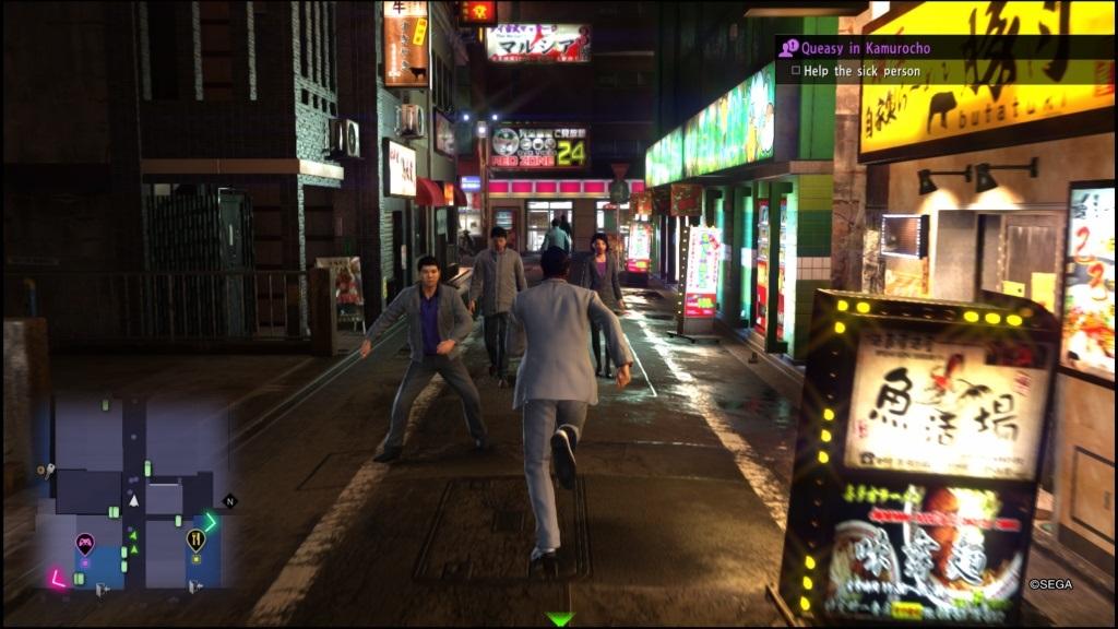 Yakuza 6: The Song of Life; Gameplay: Tokyo