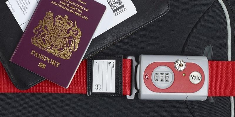 Zámky na kufr YALE splňují certifikaci TSA