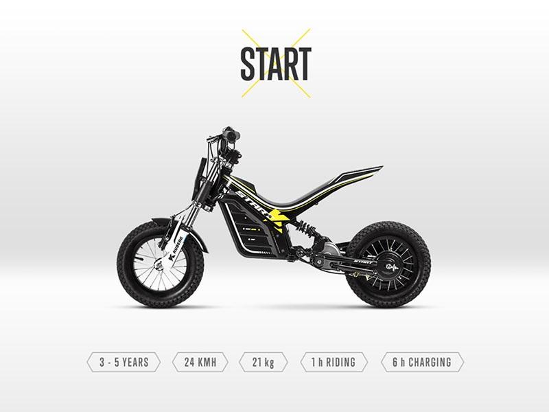 Kuberg Young Rider Start