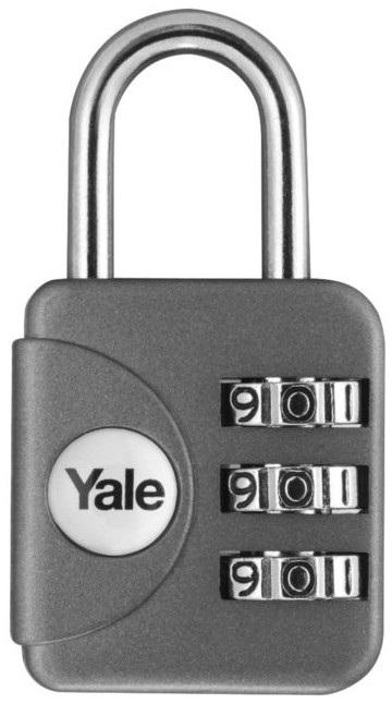 TSA zámek Yale YP1 stříbrná