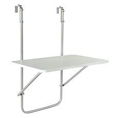 Závěsný stolek na balkon