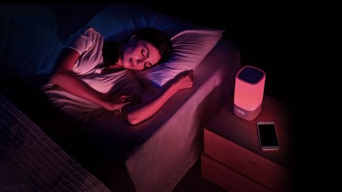 Monitor spánku - lampa