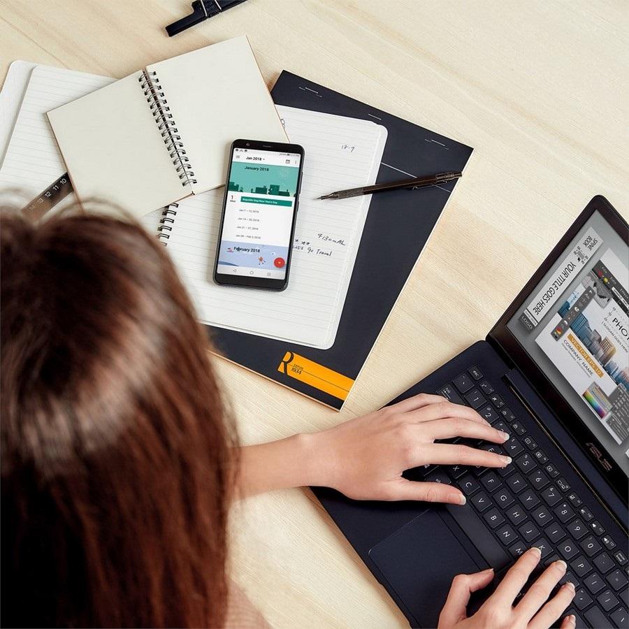 Asus ZenFone Max Plus (M1), práce
