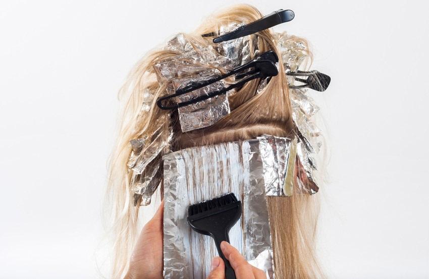 Zesvětlování vlasů