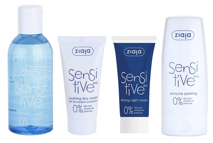 Kosmetická řada Ziaja Sensitive