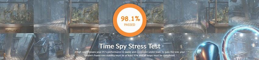 Zotac GTX 1080 Ti AMP! Edition; Time Spy Stress Test
