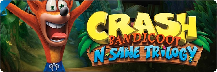 Crash Bandicoot N Sane Trilogy - PS4