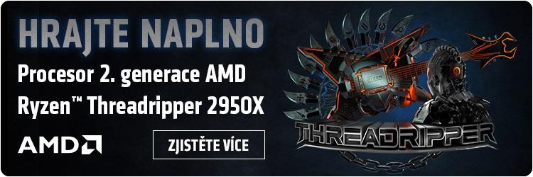 Tvořte naplno - AMD Threadripper 2X