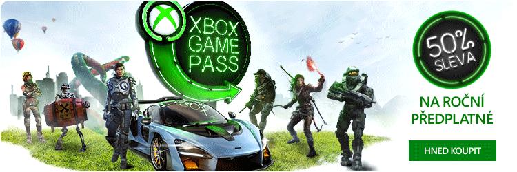 Xbox Game Pass - 12 měsíční předplatné