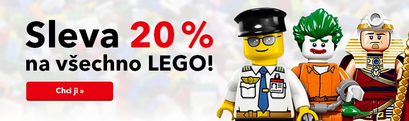 Sleva 20 % na LEGO