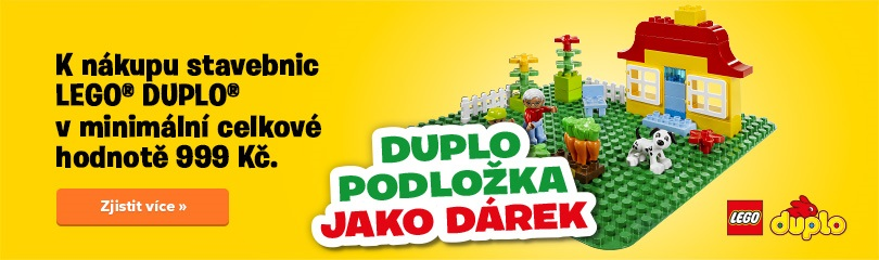 LEGO Duplo - podložka zdarma