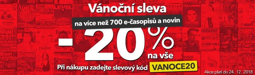 -20 % na e-časopisy
