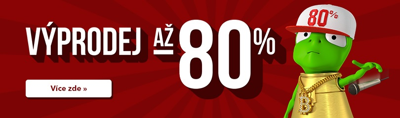 Výprodej až -80 % !