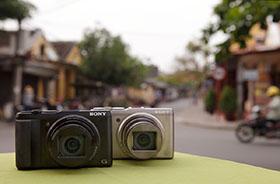 Sony CyberShot DSC-HX50 černý - Digitální fotoaparát  5bfcd52456a
