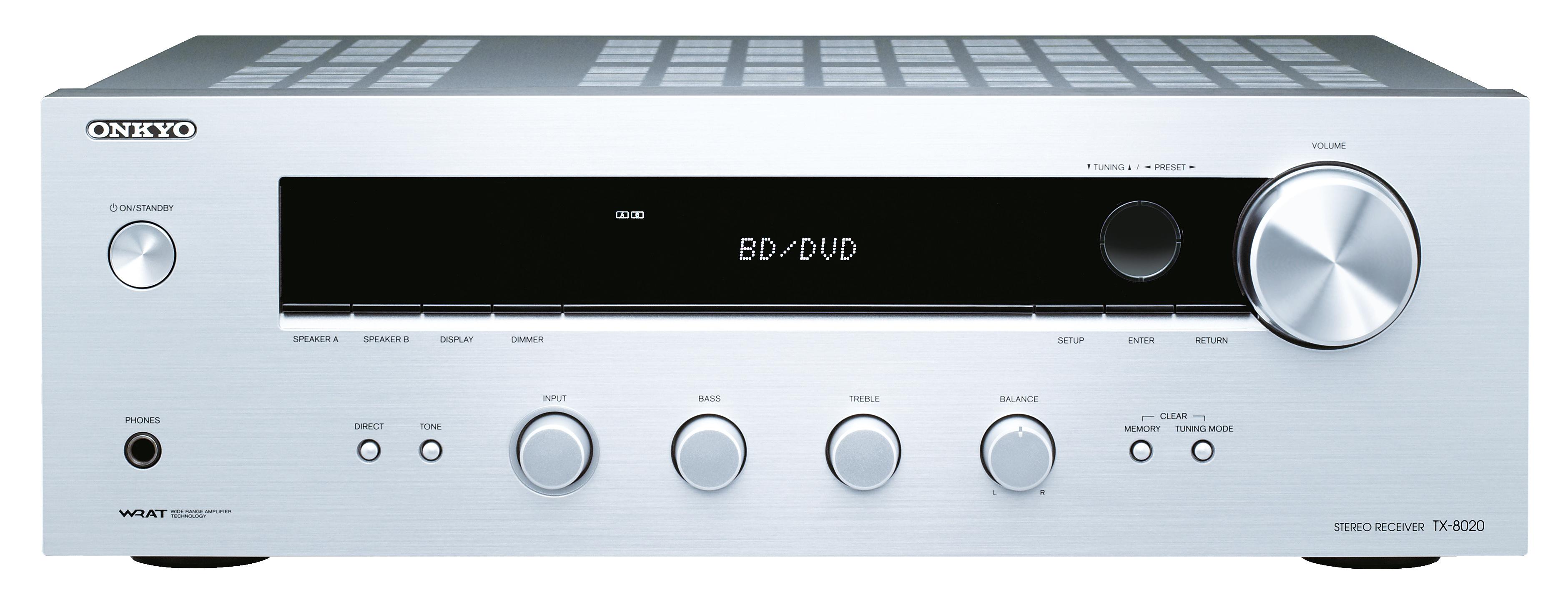 ONKYO TX-8020 stříbrný