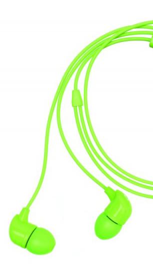 Happy Plugs In-Ear Green
