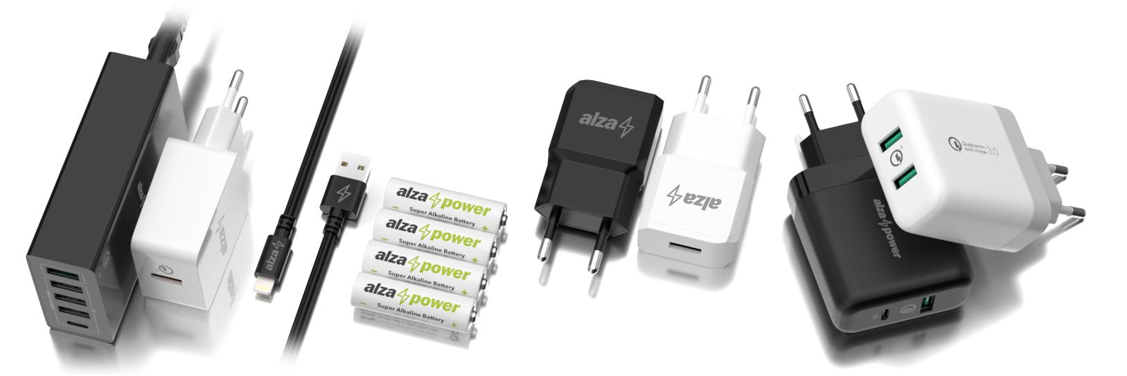ee5e5c529 AlzaPower Q200 Quick Charge 3.0 Black - Nabíječka | Alza.cz
