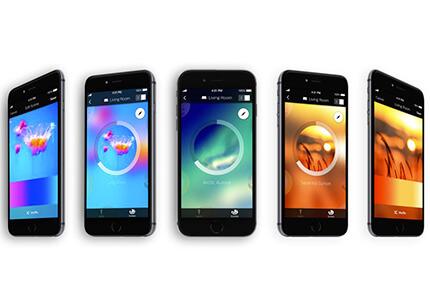 Aplikace Philips Hue - možnosti barevného nastavení