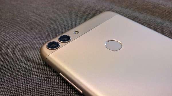 Huawei P smart fotka - detail na fotoaparát