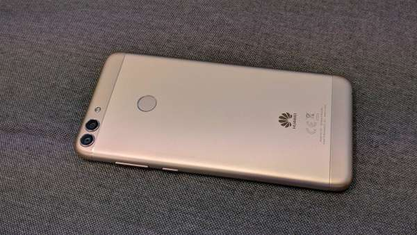 Huawei P smart fotka - zadní strana