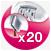 20-tweezer system