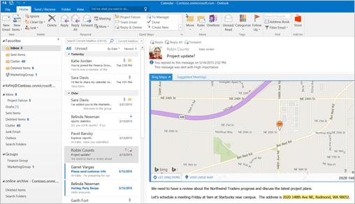 Outlook document sample