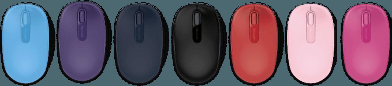 Microsoft barevné myši