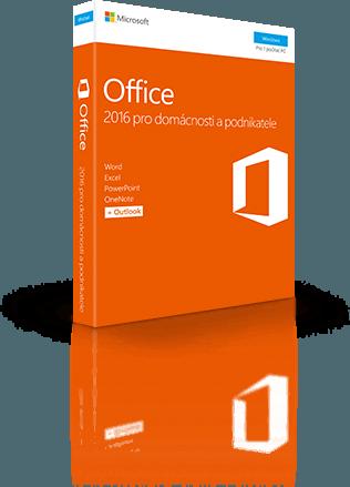 Office 2016 pro domácnosti a podnikatele