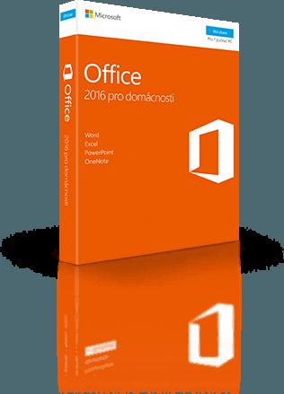 Office 2016 pro domácnosti