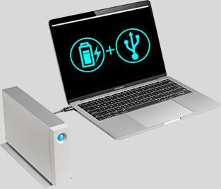 Nabíjení laptopu