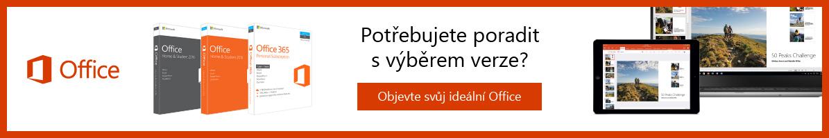 Microsoft Office - Potřebujete poradit s výběrem verze Office?