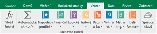 Excel - Vzorce
