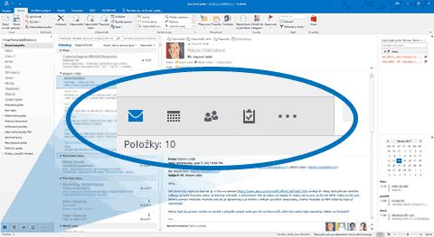 Outlook - Více než emaily
