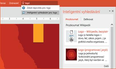 PowerPoint - Inteligentní hledání 2.