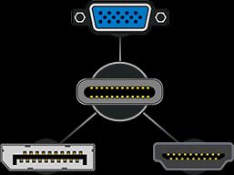 Univerzální možnost zapojení konektoru USB-C