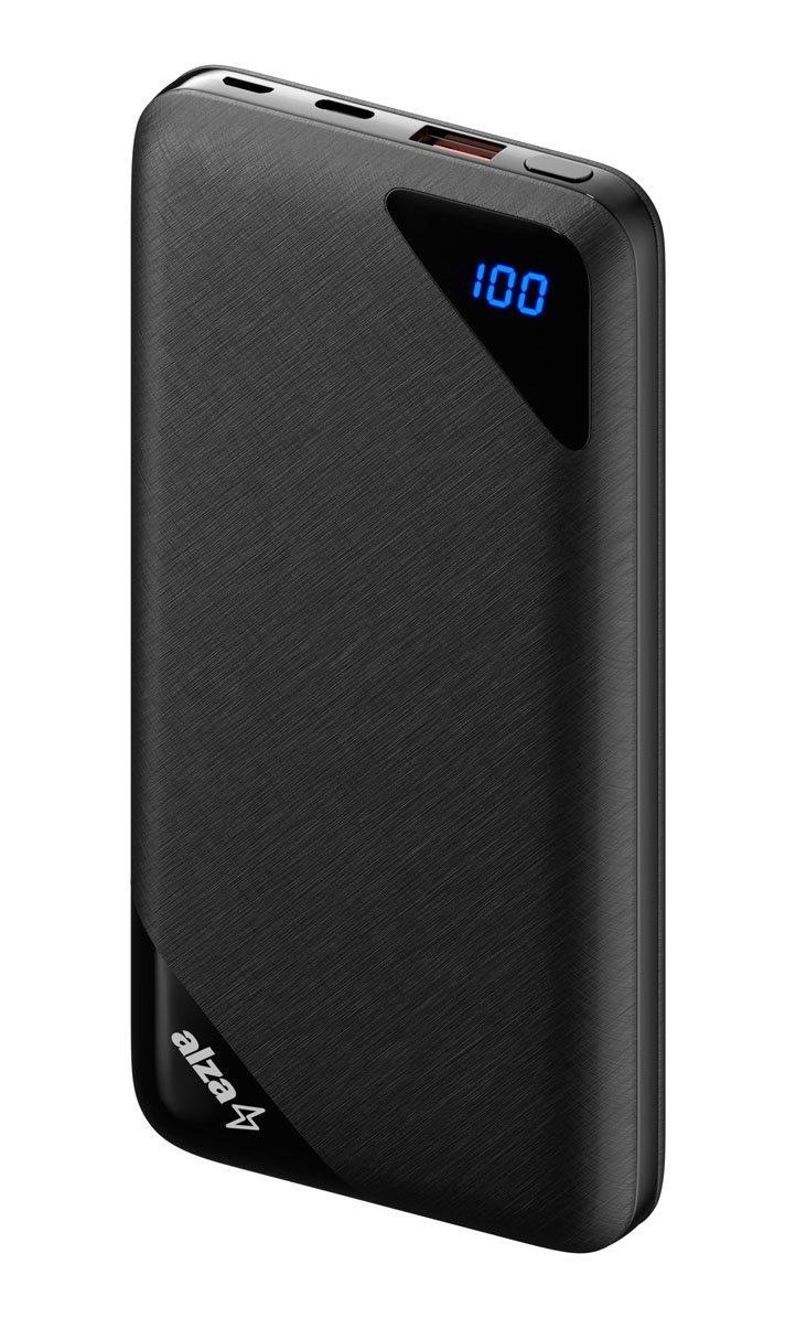 4bc336432 AlzaPower Source 16000mAh Quick Charge 3.0 Black - Powerbanka | Alza.cz