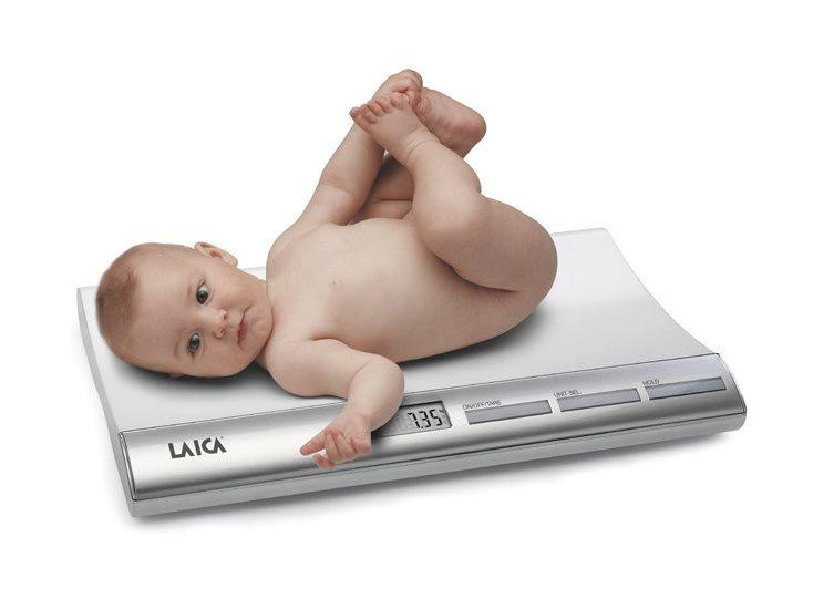 Přesné a bezpečné vážení kojenců