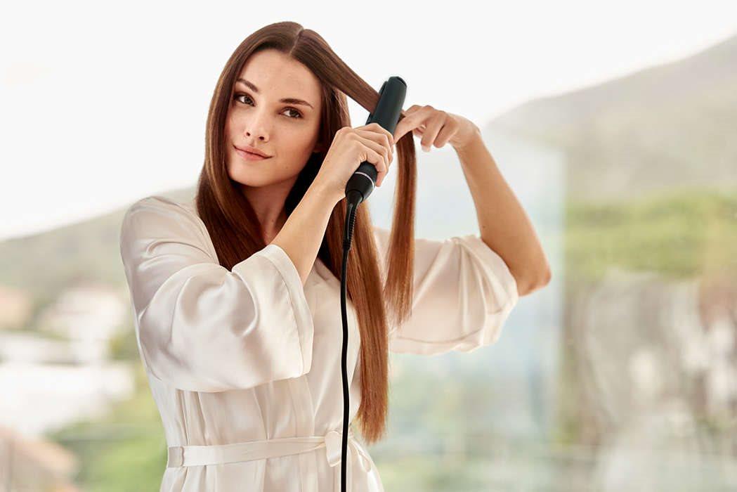 Philips StraightCare Žehlička na vlasy BHS677 00 - Žehlička na vlasy ... d86349f663c